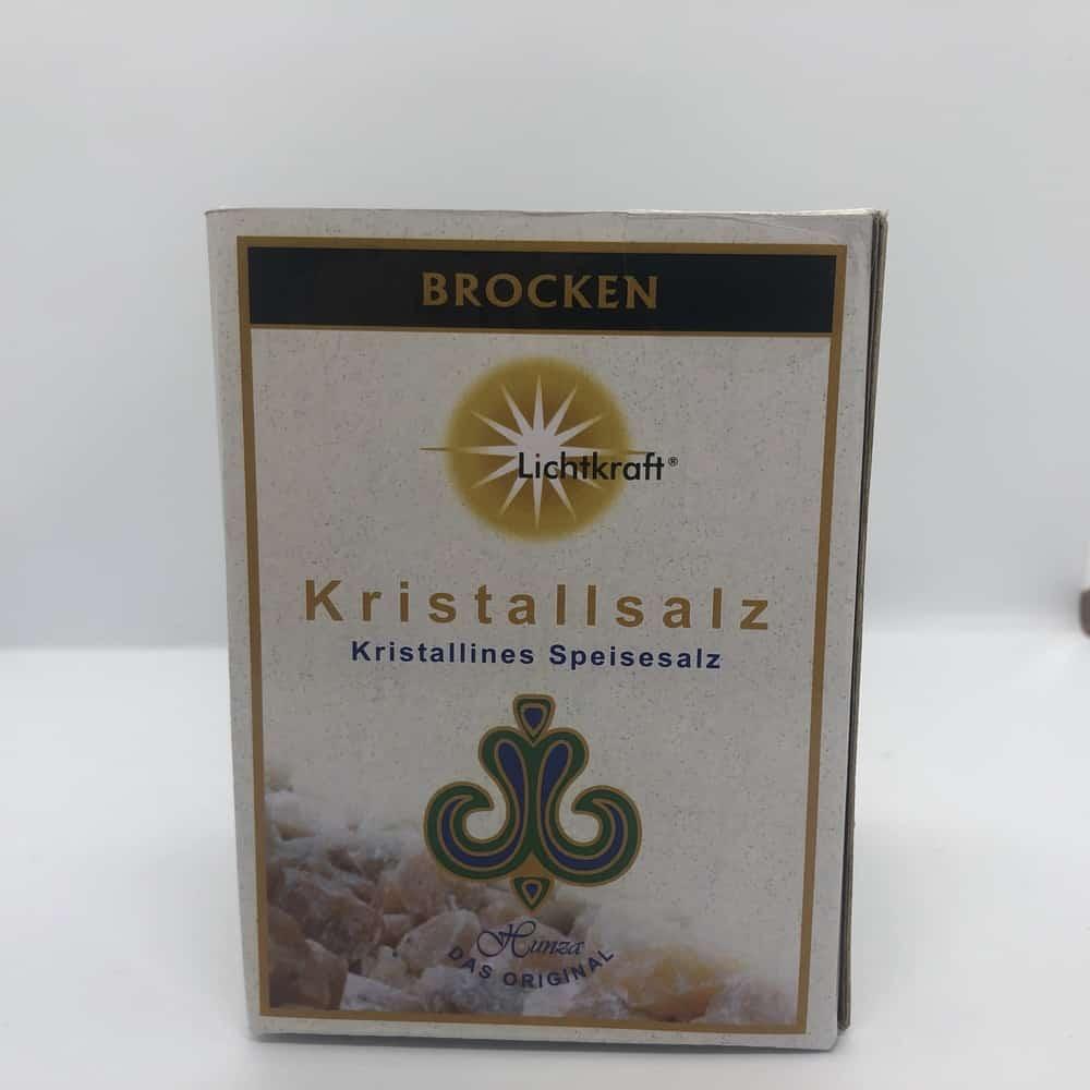 Lichtkraft-Kristallsalz Brocken, Naturbelassen, Himalaja-Kristallsalz